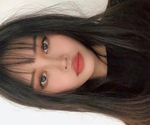 asia, asian girl, and bang image