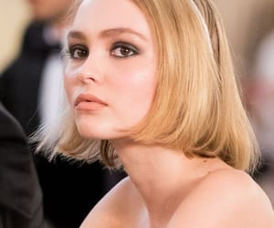 lily rose depp, beauty, and chanel image