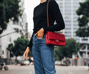 autumn, bag, and outfit image