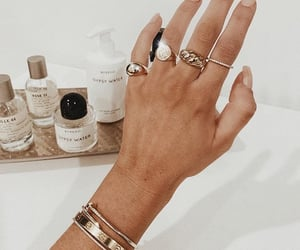 bracelet, fashion, and nails image