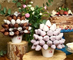 chocolate, delicioso, and fresas image