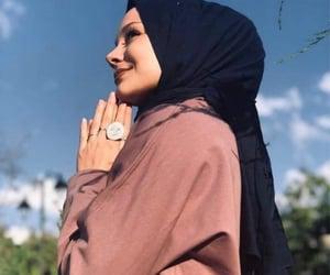 hijab, hijâbi, and حجاب image