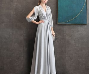 girl, formal dresses, and elegant dress image
