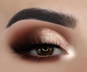 eyeshadow, eye, and makeup image