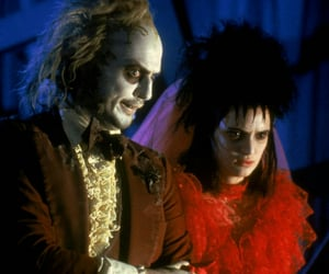 beetlejuice, Halloween, and movie image