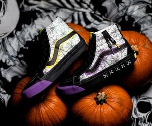 Halloween, sneakers, and vans image