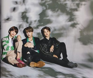 background, min, and jimin image