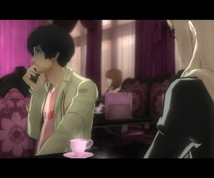 anime, conversation, and vincent brooks image
