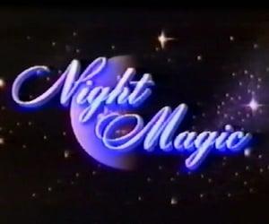 night, magic, and stars image