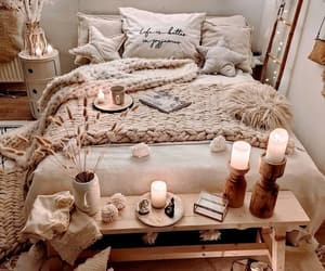 bedroom, cozy, and fashion image