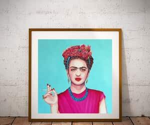 frida kahlo, digital prints, and frida kahlo art image