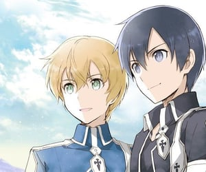 anime, handsome, and sword art online image