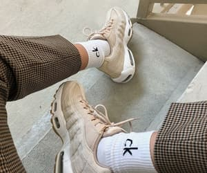 Calvin Klein, legs, and sneakers image