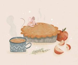 animal, apple, and Apple Pie image