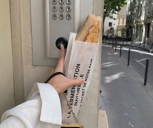 aesthetic, food, and baguette image