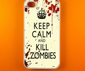 zombies, keep calm, and zombie image