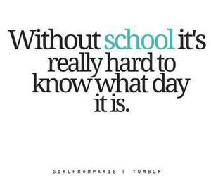 school, text, and quote image