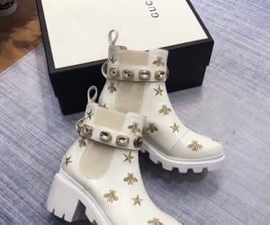 boots, fashion, and gucci image