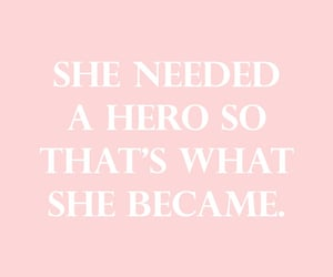quotes, hero, and pink image