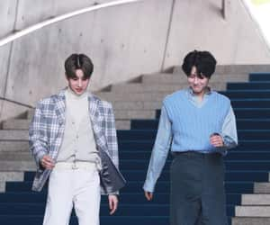 x1, seungwoo, and han seungwoo image
