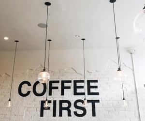 cafe, coffee, and food image