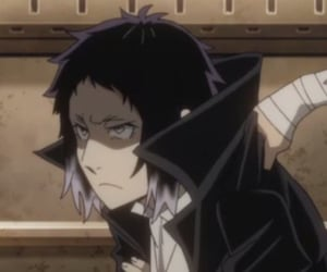 bsd, bungou stray dogs, and akutagawa image