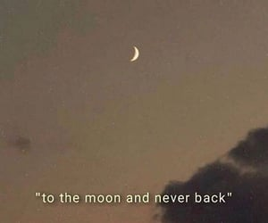 moon, quotes, and aesthetic image