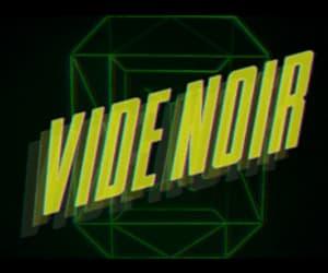 gif, music, and vide noir image