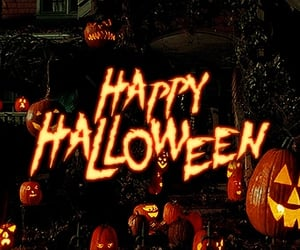 Halloween, pumpkin, and gif image