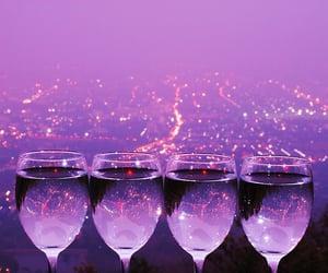 purple and lights image