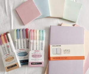 collection, notebook, and pastel image