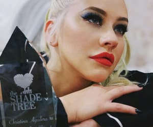 award, blue, and make up image