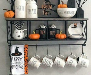 decor, trick or treat, and Halloween image