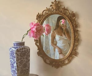 aesthetic, rose, and soft image