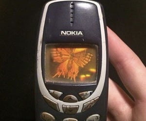aesthetic, nokia, and 90s image