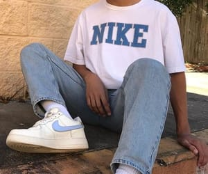 nike, denim, and vintage image