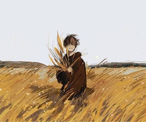art, boy, and illustration image