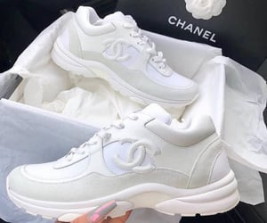 shoes, chanel, and white image