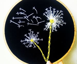 art, beautiful, and embroidery image