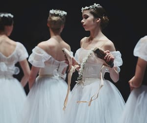 ballerina, ballet, and fashion image