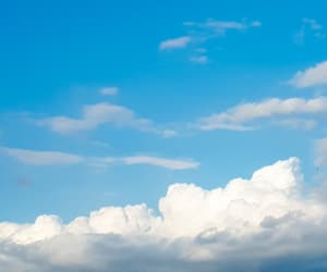 beauty, cloud, and clouds image