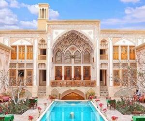 beauty, hijab, and home interior image