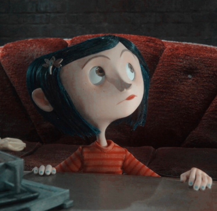 aesthetic, coraline, and spooky image