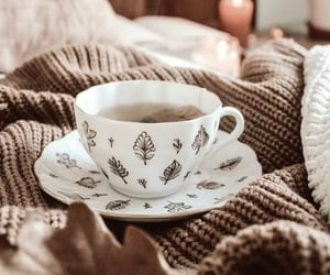 tea, autumn, and cozy image