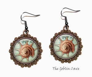 etsy, beach jewelry, and ocean jewelry image