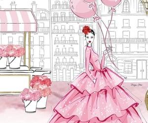 belleza, fashion, and ilustracion image
