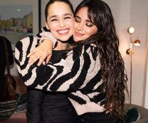 emilia clarke, camila cabello, and fifth harmony image
