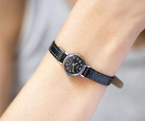 etsy, silver lady watch, and petite watch gift image