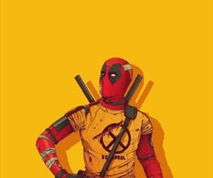 black, red, and deadpool image