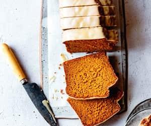 bread, food, and pumpkin image